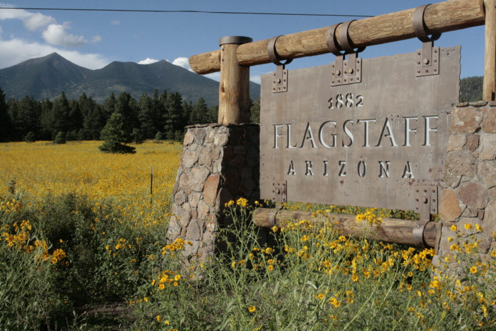 Flagstaff sign 1
